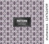 geometric pattern background.... | Shutterstock .eps vector #1247626939