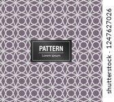 geometric pattern background.... | Shutterstock .eps vector #1247627026