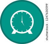 clock glyph round circle... | Shutterstock .eps vector #1247630599