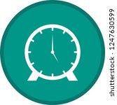 clock glyph round circle... | Shutterstock .eps vector #1247630599