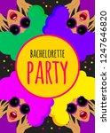 bright funny invitation to ...   Shutterstock .eps vector #1247646820