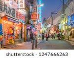 ueno tokyo japan   november 27  ... | Shutterstock . vector #1247666263
