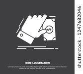business  hand  money  earn ... | Shutterstock .eps vector #1247682046