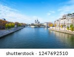 cathedral of notre dame de... | Shutterstock . vector #1247692510