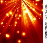 fire background with intense... | Shutterstock . vector #124769806