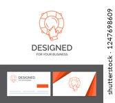 business logo template for... | Shutterstock .eps vector #1247698609