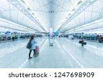 hong kong  china   november 17  ... | Shutterstock . vector #1247698909
