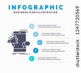 bullhorn  marketing  mobile ... | Shutterstock .eps vector #1247720569