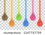 color juice jelly drops... | Shutterstock .eps vector #1247737759