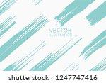 soft color grunge strip brush... | Shutterstock .eps vector #1247747416