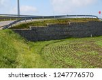 a fragment of the retaining... | Shutterstock . vector #1247776570
