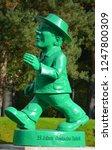 berlin germany 09 23 17  statue ... | Shutterstock . vector #1247800309