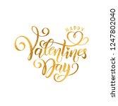 vector golden foil effect... | Shutterstock .eps vector #1247802040
