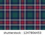 check plaid diagonal fabric...   Shutterstock .eps vector #1247806453