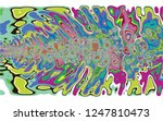 dynamic flow of colors based on ...   Shutterstock . vector #1247810473