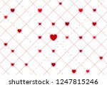 red hearts abstract st... | Shutterstock .eps vector #1247815246