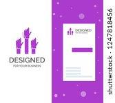 business logo for aspiration ...   Shutterstock .eps vector #1247818456
