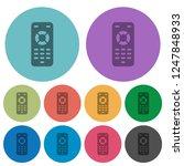 remote control darker flat... | Shutterstock .eps vector #1247848933