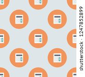 endless repeating flat... | Shutterstock .eps vector #1247852899