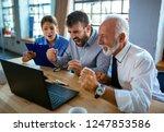 group of businesspeople... | Shutterstock . vector #1247853586