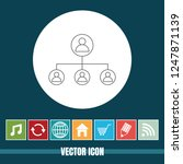 very useful vector line icon of ... | Shutterstock .eps vector #1247871139