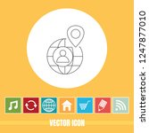 very useful vector line icon of ...   Shutterstock .eps vector #1247877010