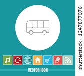 very useful vector line icon of ... | Shutterstock .eps vector #1247877076