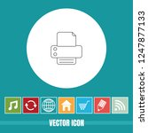 very useful vector line icon of ... | Shutterstock .eps vector #1247877133