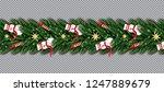 border with snowman  christmas... | Shutterstock .eps vector #1247889679