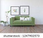 idea of a white scandinavian... | Shutterstock . vector #1247902573