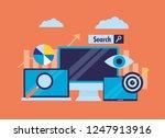 search engine optimization | Shutterstock .eps vector #1247913916