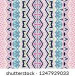 peruvian american indian... | Shutterstock .eps vector #1247929033