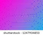 technical pattern . gradient...   Shutterstock .eps vector #1247934853
