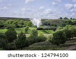 Goathland  Yorkshire  Uk. View...