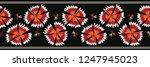 boho carnation flower blooms...   Shutterstock .eps vector #1247945023