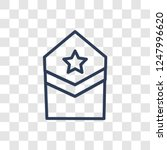 militar insignia icon. trendy... | Shutterstock .eps vector #1247996620