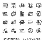 ux icons. set of ab testing ...