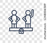 balance in human resources icon....   Shutterstock .eps vector #1248006589