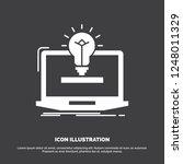laptop  solution  idea  bulb ...