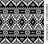 tribal striped seamless pattern.... | Shutterstock .eps vector #1248014869