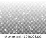 christmas snowflakes on dark... | Shutterstock .eps vector #1248025303