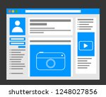 web page template. vector...