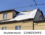 snow on the roof | Shutterstock . vector #1248033493