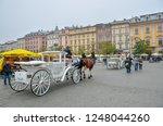 krakow  poland   november 03 ... | Shutterstock . vector #1248044260