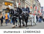 krakow  poland   november 03 ... | Shutterstock . vector #1248044263