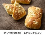 fresh pastry with cottage... | Shutterstock . vector #1248054190