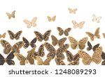 white background flying... | Shutterstock .eps vector #1248089293