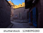 narrow streets with jewelry... | Shutterstock . vector #1248090283