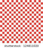 pixel art. vector texture | Shutterstock .eps vector #124811020