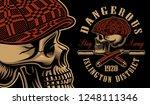 vector illustration of a bully... | Shutterstock .eps vector #1248111346